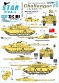 STAR DECALS[SD35-C1162]1/35 チャレンジャーI. RSDG  - 湾岸戦争1991年の王室スコットランドドラグーンガード