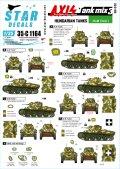 STAR DECALS[SD35-C1164]1/35 枢軸軍に参加した東ヨーロッパの戦車#3 第二大戦に於けるハンガリーの戦車