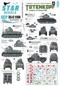 STAR DECALS[SD35-C1180]1/35 WWII ドイツ 親衛隊 SSトーテンコープス フランス侵攻時の第3SS装甲師団 1940年 ソミュアS35、パナール178他