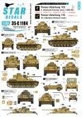 STAR DECALS[SD35-C1184]1/35 WWII ドイツ ブラウ作戦とスターリングラード #2 II号戦車F型、III号戦車H,J,L型、IV号戦車F2型他