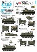 STAR DECALS[SD35-C1189]1/35 朝鮮戦争 米 米陸軍砲兵隊 #1 M7 プリースト