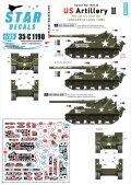 "STAR DECALS[SD35-C1190]1/35 朝鮮戦争 米 米陸軍砲兵隊 #2 M40 155mm ""アーカンソンロングトム"""