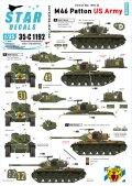STAR DECALS[SD35-C1192]1/35 朝鮮戦争 米 米陸軍 M46パットン 朝鮮戦争でのM46 パットン