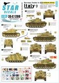 STAR DECALS[SD35-C1209]1/35 WWII 独 イタリア戦線のドイツ戦車#9 ヘルマンゲーリング装甲師団 三号戦車M/N型 IV号戦車G/H型 マーダーII