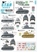 STAR DECALS[SD35-C1215]1/35 WWII 独 ノルウェーとフィンランドに進駐したドイツ戦車 #3