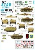 STAR DECALS[SD35-C1216]1/35 WWII 独 ノルウェーとフィンランドに進駐したドイツ戦車 #4