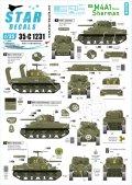 STAR DECALS[SD35-C1231]1/35 WWII 米 M4A1シャーマンD-デイ75周年スペシャル フランス ノルマンディー1944年