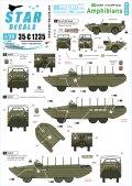 STAR DECALS[SD35-C1235]1/35 WWII 米 水陸両用車フォードGPA/DUKW75周年スペシャル フランス ノルマンディー1944年