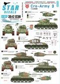 STAR DECALS[SD35-C1238]1/35 現用 バルカン半島 クロアチア陸軍#3 祖国戦争でのT-34/85戦車