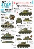 STAR DECALS[SD35-C1241]1/35 WWII イタリア戦線でのポーランド軍シャーマンMkII/MkIII/MkIB(105mm) 1943-45#2