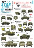 STAR DECALS[SD35-C1242]1/35 WWII イタリア戦線でのポーランド軍装輪装甲車と駆逐戦車 1943-45#3