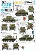 STAR DECALS[SD35-C1245]1/35 WWII 英国陸軍所属のシャーマン D-ディ75周年スペシャル シャーマンMkI/Iハイブリッド/III