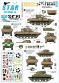 STAR DECALS[SD35-C1246]1/35 WWII 上陸直後の英軍シャーマン戦車 D-ディ75周年スペシャル DDシャーマン戦車MkI/V
