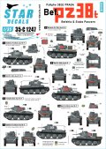 STAR DECALS[SD35-C1247]1/35 WWII ドイツ陸軍PzKpfw38(t)プラガ指揮戦車 東部戦線1941〜42