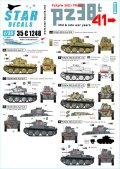 STAR DECALS[SD35-C1248]1/35 WWII ドイツ陸軍PzKpfw38(t)プラガ戦車 第二次大戦中期〜後期