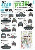 STAR DECALS[SD35-C1249]1/35 WWII ドイツ陸軍PzKpfw38(t)プラガ戦車 バルバロッサ作戦と大戦初期