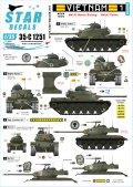 STAR DECALS[SD35-C1251]1/35 ARVN#1 南ベトナム陸軍所属の米製戦車 M41/M48A3