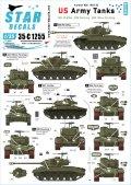 STAR DECALS[SD35-C1255]1/35 朝鮮戦争に派遣された米陸軍戦車 M24/M26/M45 1950〜53