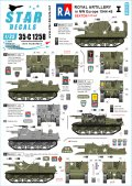 STAR DECALS[SD35-C1258]1/35 WWII 英 英国王立砲兵隊♯1 北西ヨーロッパのセクストン25ポンド