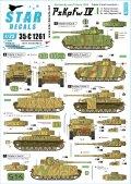 STAR DECALS[SD35-C1261]1/35 WWII 独 ノルマンディーに於けるIV号戦車♯1 IV号戦車H型及びJ型