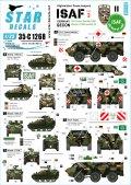 STAR DECALS[SD35-C1268]1/35 現用 独 NATO軍ISAF♯2 アフガニスタンに派遣されたドイツ連邦軍(GECON-ISAF)車両 フックス&ヴィーゼル