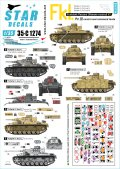 STAR DECALS[SD35-C1274]1/35 WWII 独 ドイツ無線操縦戦車#3 無線操縦戦車を誘導する無線装置搭載戦車のマーキング集 III号戦車ほか