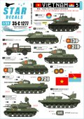 STAR DECALS[SD35-C1277]1/35 現用 ベトナム戦争 ベトナム#5 NVA(北ベトナム正規軍)の戦車と装甲車