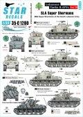 STAR DECALS[SD35-C1280]1/35 現用 中東戦争 レバノンの戦車とAFV#10 SLA(南レバノン軍)所属のM50スーパーシャーマン