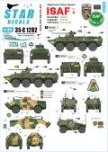 STAR DECALS[SD35-C1282]1/35 現用 アフガニスタン ISAF#4 アフガニスタンにおけるハンガリー・ブルガリア・ポルトガルのAFV BTR-80A/BRDM-2/パナードVBL