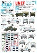 STAR DECALS[SD35-C1292]1/35 現用 中東/欧 中東での平和維持軍 スエズ シナイ ガザ地区のUNEF ユーゴスラビアとスウェーデン軍車両