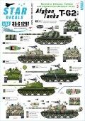 STAR DECALS[SD35-C1297]1/35 現用 中央アジア アフガニスタンのT-62 北部同盟/タリバン&アフガニスタン国軍 T-62A/T-62AM