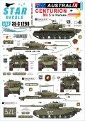 STAR DECALS[SD35-C1298]1/35 ベトナム戦争 ベトナムでのオーストラリア軍♯1 センチュリオンMk5