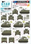 STAR DECALS[SD35-C1300]1/35 現用 オージースペシャルM113 オーストラリア軍のM113A1フィッター/M113A1RAEME/M577コマンドポスト