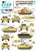 STAR DECALS[SD35-C1301]1/35 現用 湾岸戦争でのウォーリアISV/ICV 1990〜91