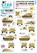 STAR DECALS[SD35-C1302]1/35 現用 湾岸戦争1990〜91 英国軍の偵察AFV CVR(T)スコーピオン/シミター