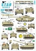 STAR DECALS[SD35-C1305]1/35 現用 中東 湾岸戦争でのアラビア連合軍戦車1990〜91 クウェート/サウジアラビア/エジプト