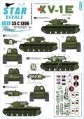 STAR DECALS[SD35-C1306]1/35 WWII 露/ソ KV-1E重戦車