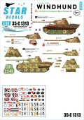 STAR DECALS[SD35-C1313]1/35 WWII 独 グレイハウンド#2 第116装甲師団第16戦車連隊所属のパンサー戦車