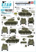 STAR DECALS[SD35-C1322]1/35 WWII 米軍AFV特集#5 ヨーロッパでのM4A1(76)W 1944〜45 第32機甲連隊 第66機甲連隊 第81戦車大隊