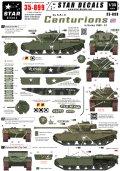 STAR DECALS[SD35-899] 1/35 朝鮮戦争のセンチュリオンMk.III 第8王立アイリッシュ軽騎兵連隊 1950-1951 デカールセット