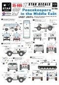 STAR DECALS[SD35-905] 1/35 中東の国連平和維持軍 #1 BTR-40,フォルクスワーゲンT3,VAB,M113A1 デカールセット