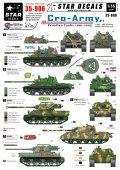 STAR DECALS[SD35-906] 1/35 クロアチア軍 1991-1995 #1 T-55,M47,パーシング,M36B2 デカールセット