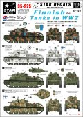 STAR DECALS[SD35-925] 1/35 WWIIのフィンランド戦車 #2 T-28中戦車 デカールセット