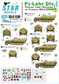 STAR DECALS[SD35-C1130]1/35 WWII独 装甲教導師団 #3 フランス1944 Sd.Kfz.251