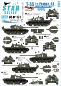 STAR DECALS[SD35-C1131]1/35 ダニューブ作戦のT-54/55 プラハ1968