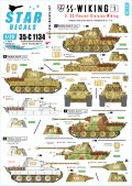 STAR DECALS[SD35-C1134]1/35 WWII独 SSヴィーキング師団 #1 パンターD&A型