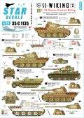 STAR DECALS[SD35-C1135]1/35 WWII独 SSヴィーキング師団 #2 指揮車両 パンター,IV号,Sd.kfz.251