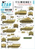 STAR DECALS[SD35-C1136]1/35 WWII独 SSヴィーキング師団 #3 IV号戦車,3トンハーフ,Sd.kfz.251