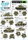 STAR DECALS[SD35-C1138]1/35 WWII英 イタリア戦線のシャーマンIII 第46王立戦車連隊 etc.
