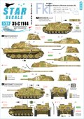 STAR DECALS[SD35-C1144]1/35 WWII独 無線操縦戦車 #2